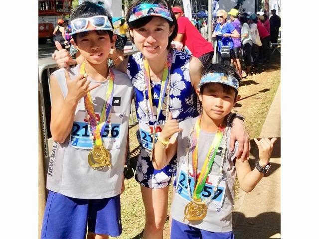 ホノルルマラソンは7歳からエントリーできます