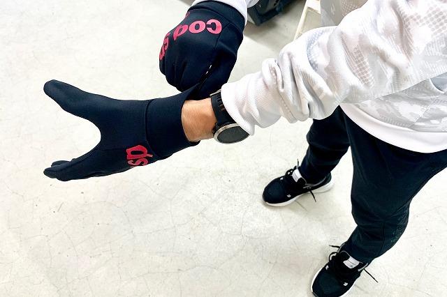 冬のランニングに手袋は必須