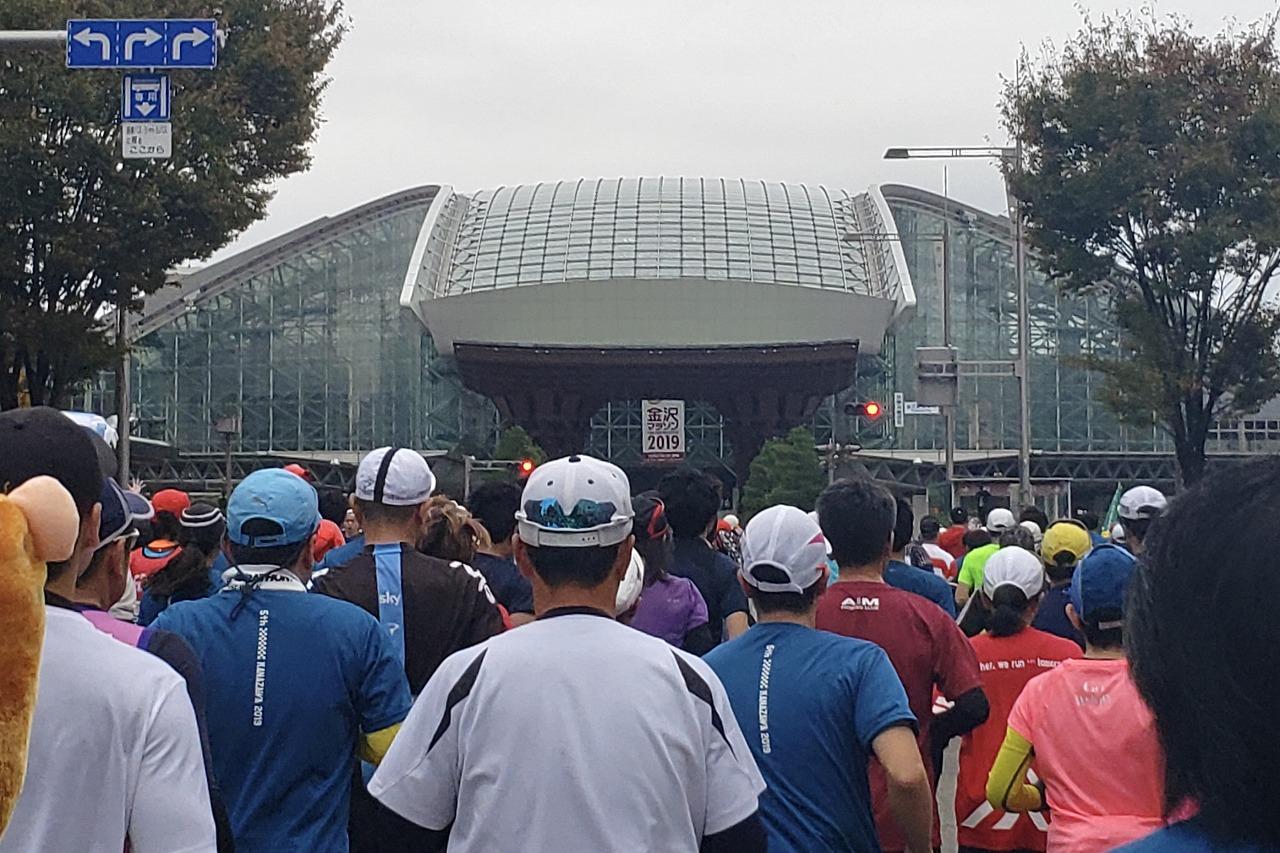 金沢マラソン金沢駅