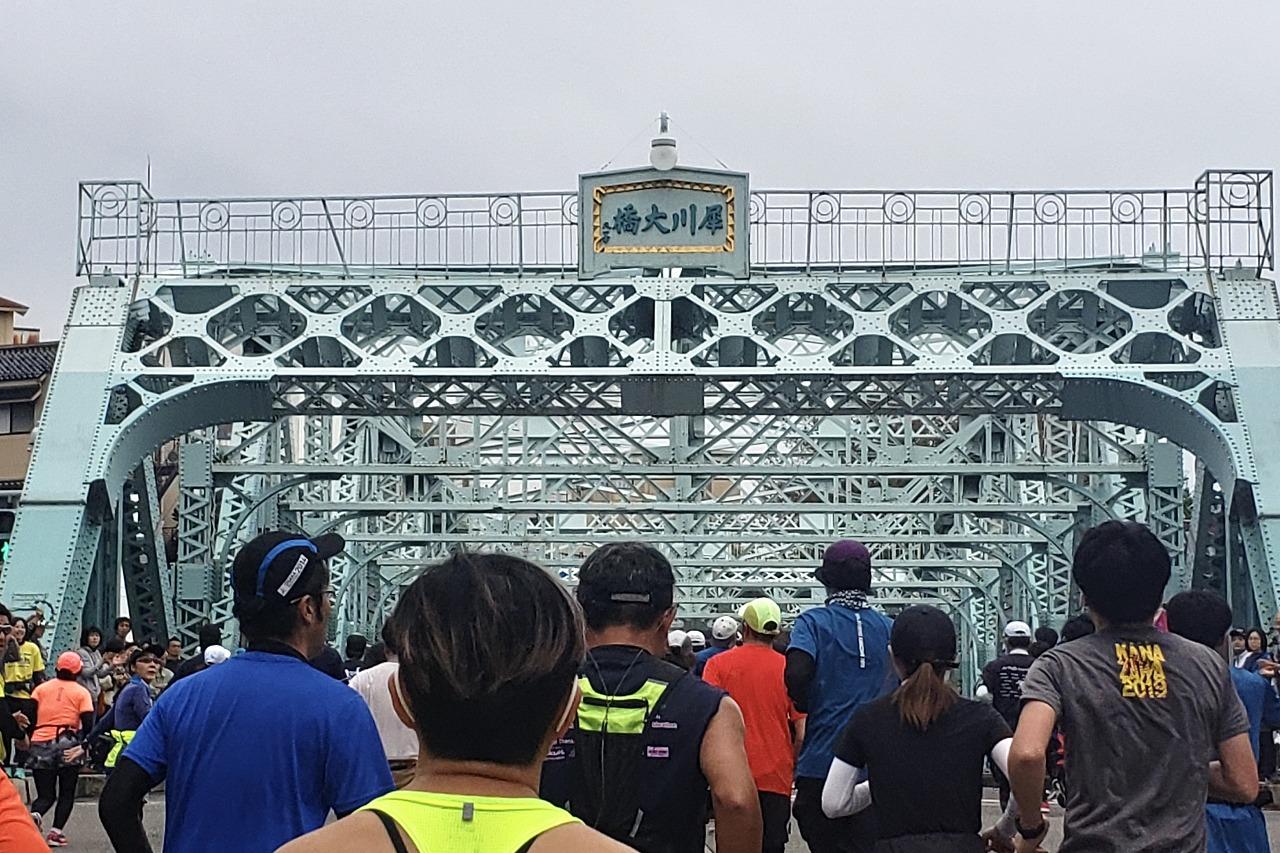 金沢マラソン犀川大橋