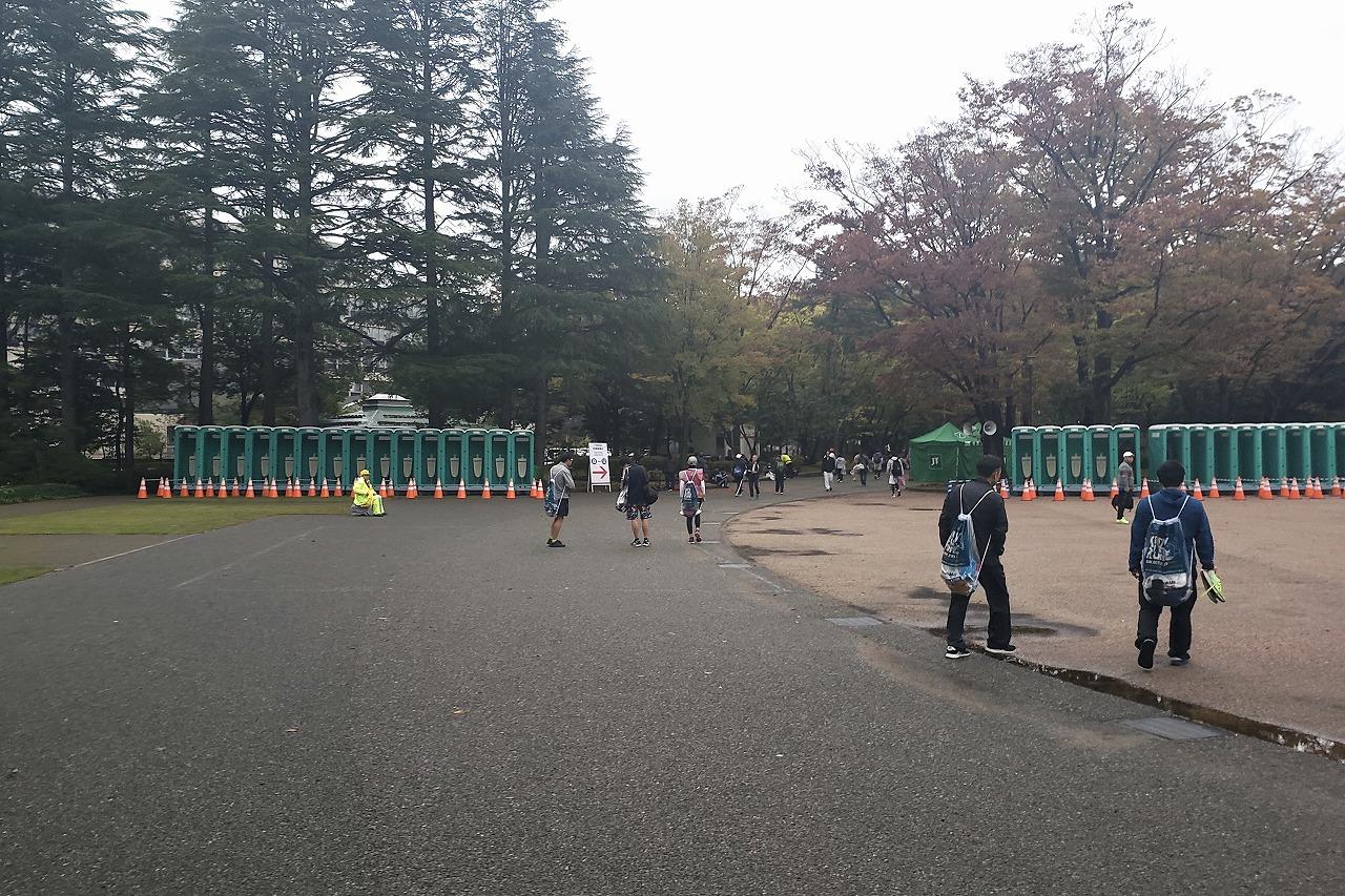 金沢マラソントイレ